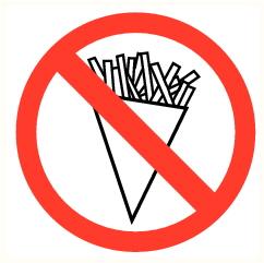 Interdiction fritures