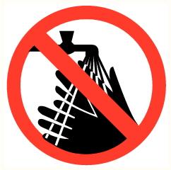 Lavage mains interdit