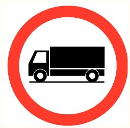 Camion interdit