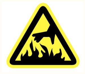 Danger flammes