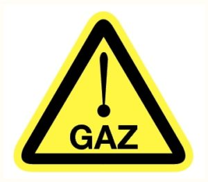 Danger gaz
