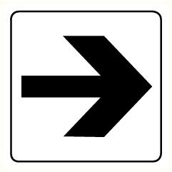 Flèche 90°
