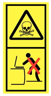 Danger de mort ne pas escalader