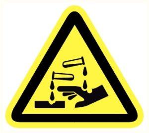 Matière corrosive