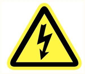 Danger électrique