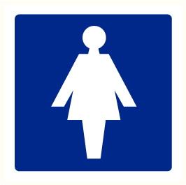 Toilette Dames