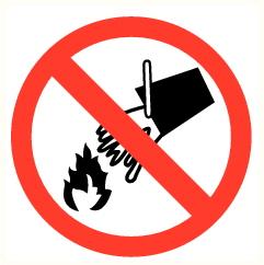 Pas d'eau sur feu
