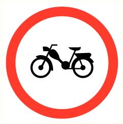 Moto interdite