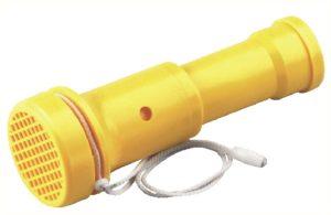 Sifflet 100 Db d'appel ou d'avertissement. 70x195 mm