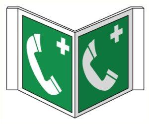 Drapeaux Téléphone secours
