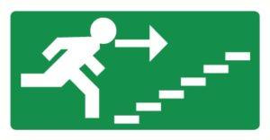 Vers escalier montant droite