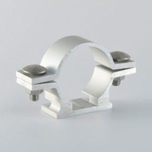 Paire de bride de fixation de panneau type 2000 plat sur poteau 51mm