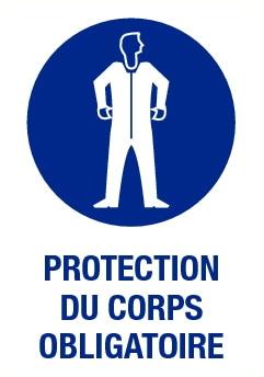 Protection du corps obligatoire