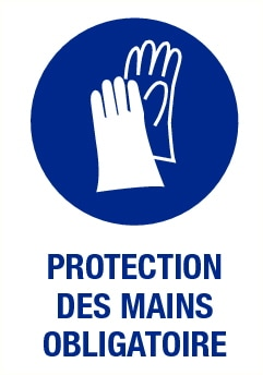 Protection des mains obligatoire
