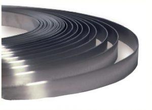 Feuillard acier 12.7mm x 0.75mm en rouleau de 30 mètres (clips de serrage voir + de détails)