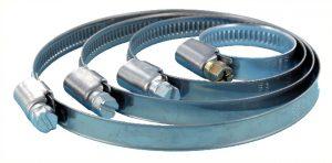 Collier de serrage en acier inoxydable pour tuyaux de 100 à 120 mm de diamètre