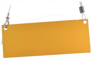 Câble en acier galvanisé, réglable sur mesure, 1.55mm diamètre, 1 mètre de longueur, charge maximum 20kg