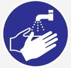 Veuillez vous laver les mains
